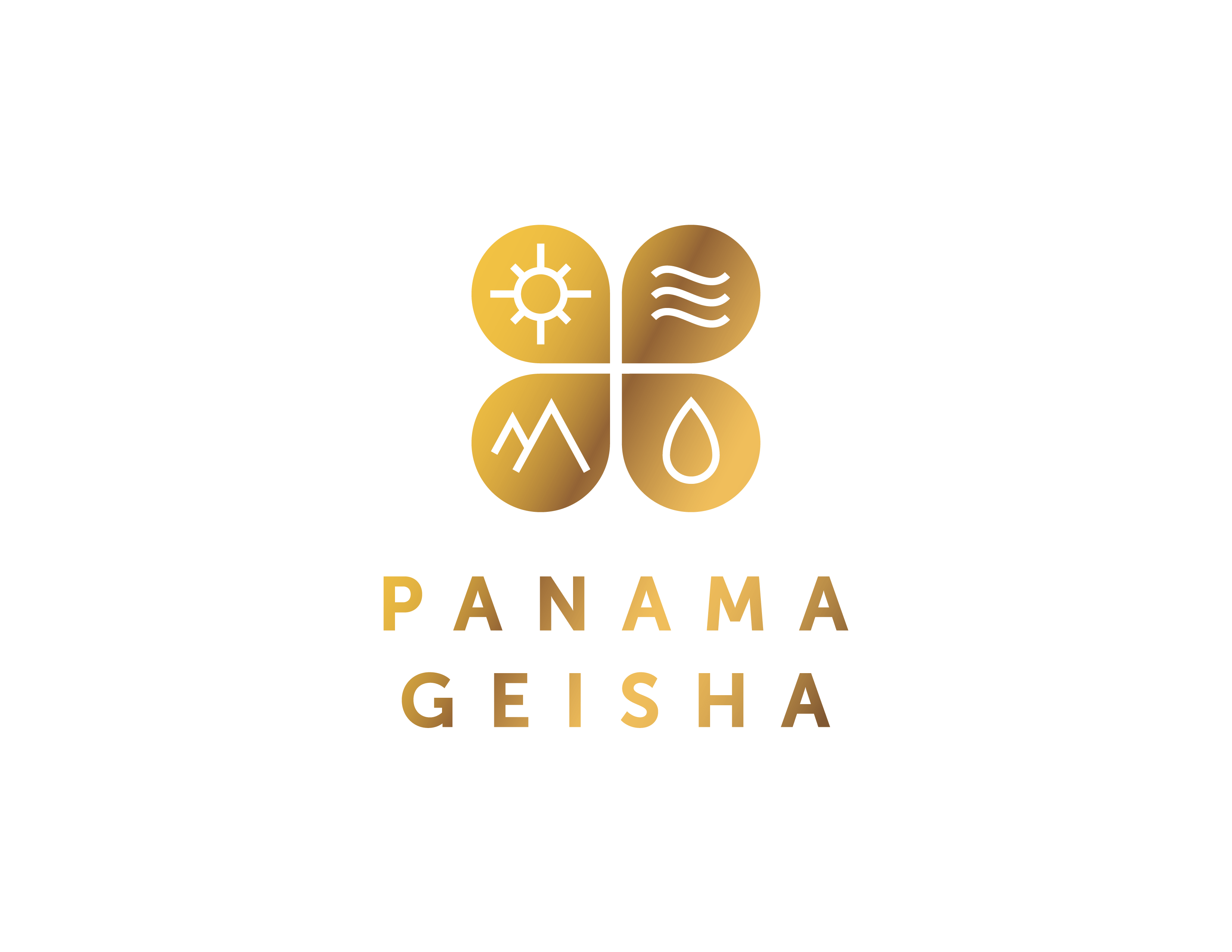 LogoGeishaPanamaDoradoBlanco